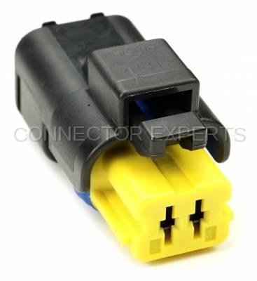 Connector Experts - Normal Order - AC Compressor - Harness Side