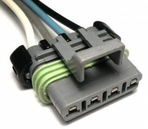 Connectors - 4 Cavities - Connector Experts - Normal Order - CE4042