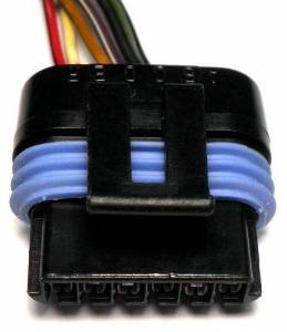 Connectors - 6 Cavities - Connector Experts - Normal Order - CE6037