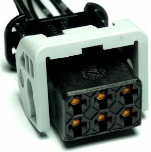 Connectors - 6 Cavities - Connector Experts - Normal Order - CE6046