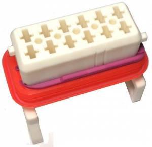 Connectors - 12 Cavities - Connector Experts - Normal Order - CET1208