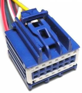 Connectors - 14 Cavities - Connector Experts - Normal Order - CET1403