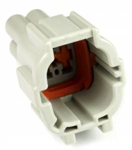 Misc Connectors - 4 Cavities - Connector Experts - Normal Order - Fog Light (To Fog Light Extension)