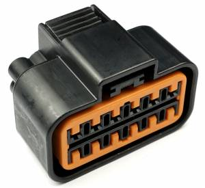 Connectors - 12 Cavities - Connector Experts - Special Order 100 - CET1222F