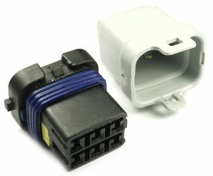 Misc Connectors - 6 Cavities - Connector Experts - Special Order 150 - Splice Connector