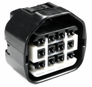 Connectors - 12 Cavities - Connector Experts - Normal Order - CET1237