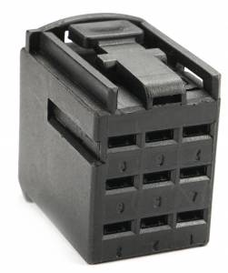 Connectors - 9 Cavities - Connector Experts - Normal Order - CE9016