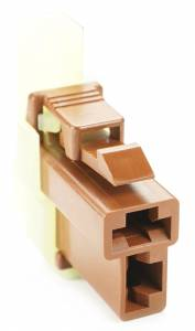 Connectors - 2 Cavities - Connector Experts - Normal Order - CE2039