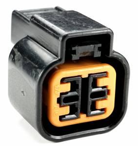 Misc Connectors - 4 Cavities - Connector Experts - Normal Order - Inline Junction Connector