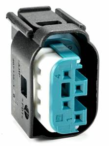 Connectors - 4 Cavities - Connector Experts - Normal Order - CE4003F