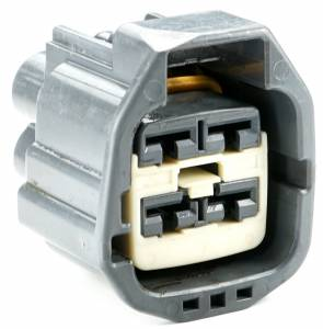 Connectors - 4 Cavities - Connector Experts - Normal Order - CE4027F