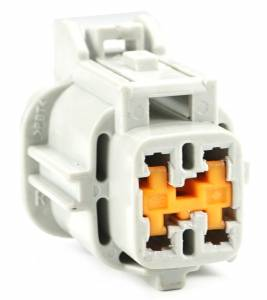 Connectors - 4 Cavities - Connector Experts - Normal Order - CE4014F