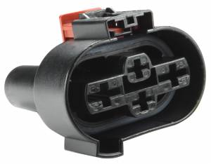Connectors - 4 Cavities - Connector Experts - Normal Order - CE4062