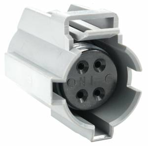 Connectors - 4 Cavities - Connector Experts - Normal Order - CE4028