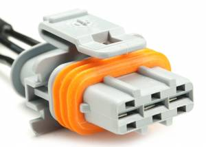 Connectors - 3 Cavities - Connector Experts - Normal Order - CE3044