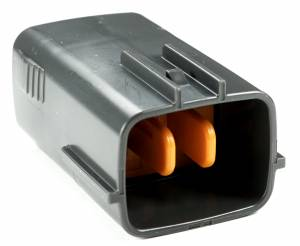 Misc Connectors - 6 Cavities - Connector Experts - Normal Order - Junction Connector - Front