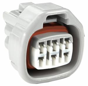 Connectors - 6 Cavities - Connector Experts - Normal Order - CE6042