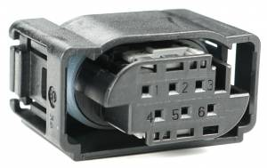 Connectors - 6 Cavities - Connector Experts - Normal Order - CE6006
