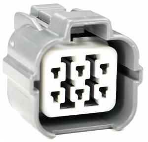 Connectors - 6 Cavities - Connector Experts - Normal Order - CE6060F