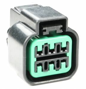 Misc Connectors - 6 Cavities - Connector Experts - Normal Order - Inline Junction Connector