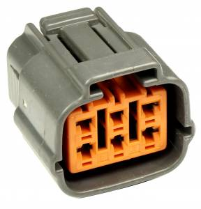 Connectors - 6 Cavities - Connector Experts - Normal Order - CE6064F