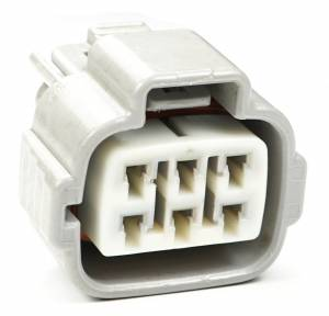 Connectors - 6 Cavities - Connector Experts - Normal Order - CE6002AF