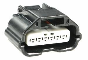 Misc Connectors - 6 Cavities - Connector Experts - Normal Order - Inline - To Front Harness