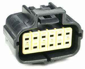 Connectors - 12 Cavities - Connector Experts - Normal Order - CET1205F