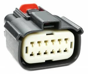 Connectors - 12 Cavities - Connector Experts - Normal Order - CET1210F