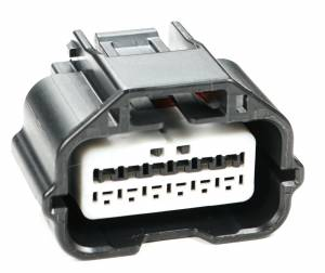 Misc Connectors - 12 Cavities - Connector Experts - Normal Order - Inline Junction Connector - Rear Bumper