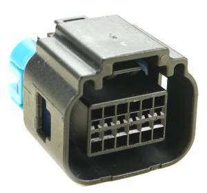 Misc Connectors - 12 Cavities - Connector Experts - Normal Order - Radar Sensor - Front