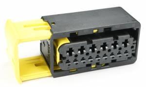 Connectors - 15 Cavities - Connector Experts - Special Order 100 - CET1502BK