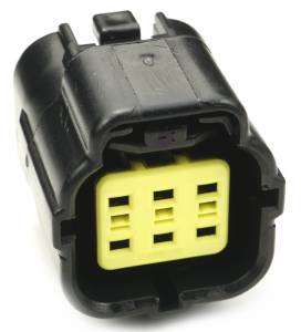 Connectors - 6 Cavities - Connector Experts - Normal Order - CE6040F