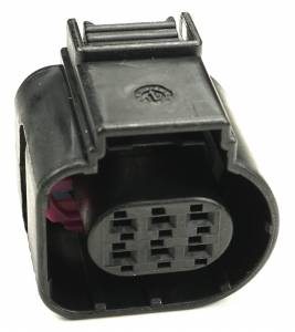 Misc Connectors - 6 Cavities - Connector Experts - Normal Order - Inline Connector - Front