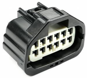 Misc Connectors - 12 Cavities - Connector Experts - Normal Order - Inline - To Front Harness