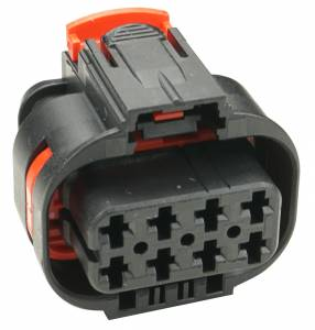 Connectors - 8 Cavities - Connector Experts - Normal Order - CE8046BK