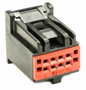 Connectors - 8 Cavities - Connector Experts - Normal Order - CE8040BK