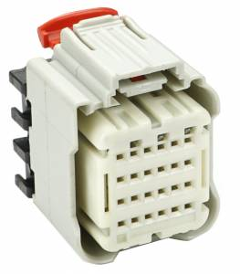 Connectors - 24 Cavities - Connector Experts - Normal Order - CET2428