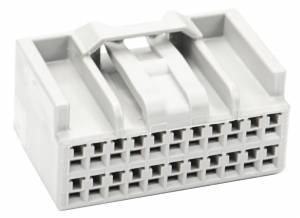 Connectors - 22 Cavities - Connector Experts - Normal Order - CET2216F