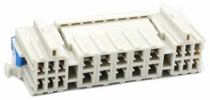 Connectors - 22 Cavities - Connector Experts - Special Order 100 - CET2219