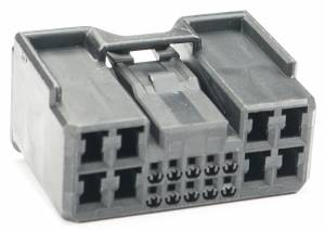 Connectors - 18 Cavities - Connector Experts - Normal Order - CET1811F