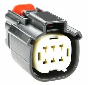 Misc Connectors - 6 Cavities - Connector Experts - Normal Order - Inline - To Cooling Fan Harness