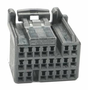 Connectors - 22 Cavities - Connector Experts - Special Order 100 - CET2225