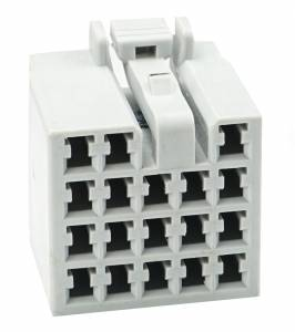 Connectors - 18 Cavities - Connector Experts - Normal Order - CET1821