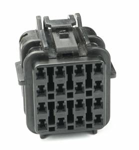 Connectors - 16 Cavities - Connector Experts - Normal Order - CET1670