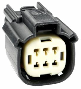 Connectors - 6 Cavities - Connector Experts - Normal Order - CE6039CSF