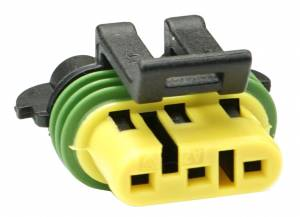 Connectors - 3 Cavities - Connector Experts - Normal Order - CE3041BF