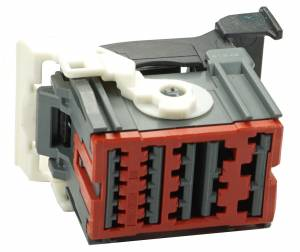 Connectors - 22 Cavities - Connector Experts - Normal Order - CET2227GY