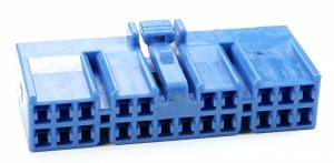 Connectors - 22 Cavities - Connector Experts - Special Order 100 - CET2230