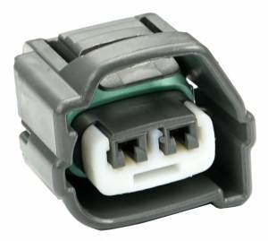 Misc Connectors - 2 Cavities - Connector Experts - Normal Order - AC Compressor (Harness Side)
